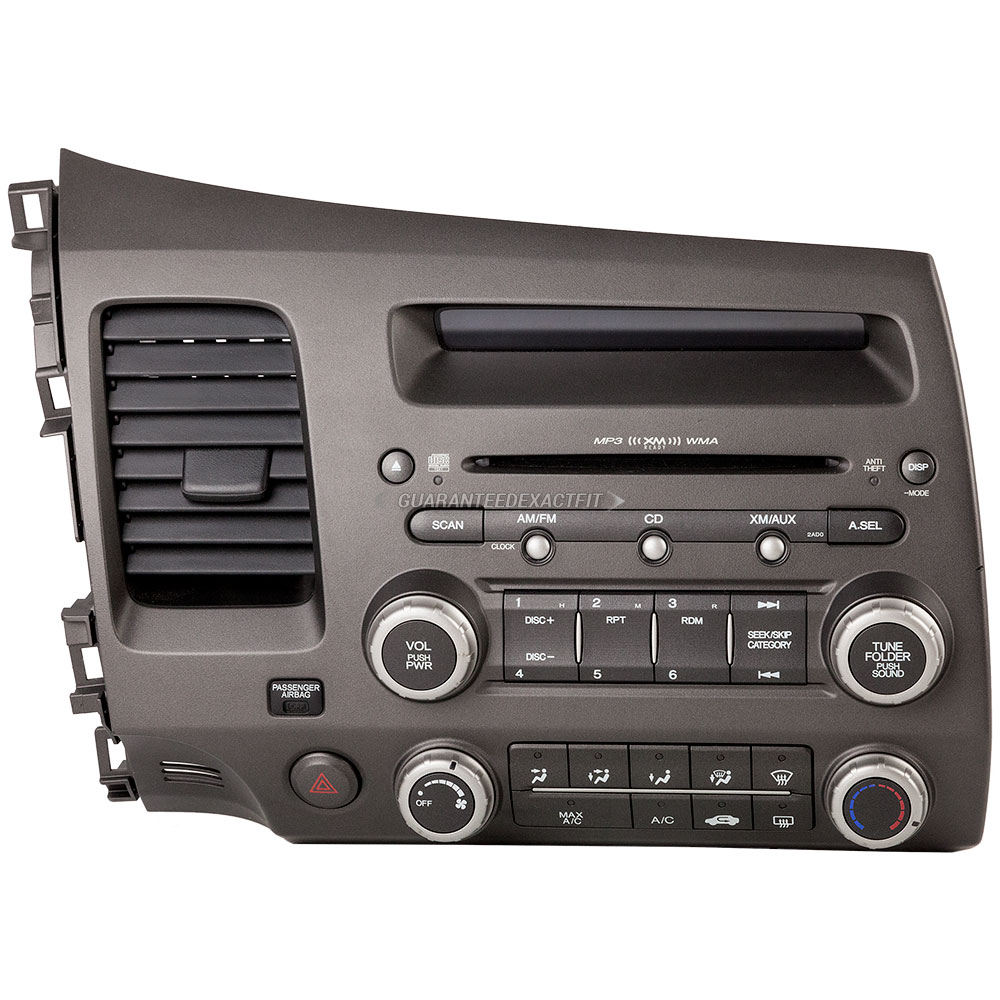 2006 honda civic radio or cd player am fm mp3 6cd radio. Black Bedroom Furniture Sets. Home Design Ideas