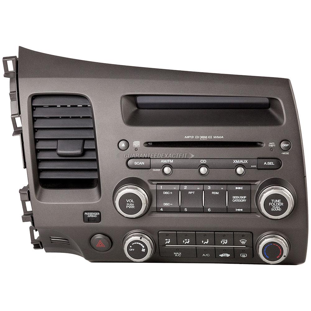 2006 honda civic radio or cd player am fm mp3 6cd radio with face code 2ad0 or 2af0 18 40329 r. Black Bedroom Furniture Sets. Home Design Ideas