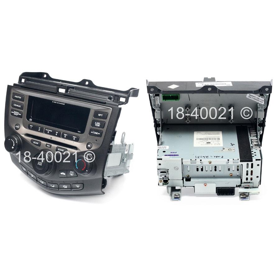 Honda Accord Radio or CD Player