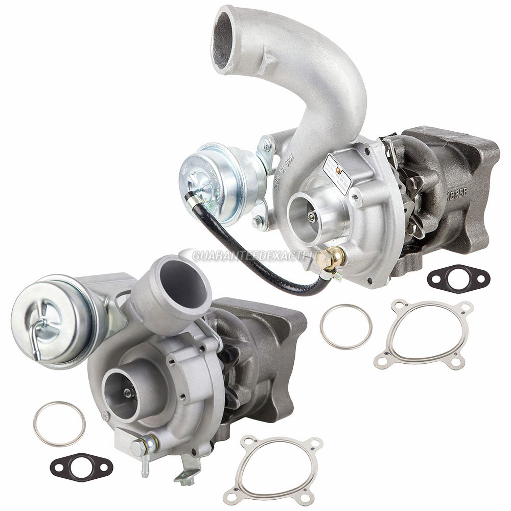 Audi A6 Turbocharger and Installation Accessory Kit