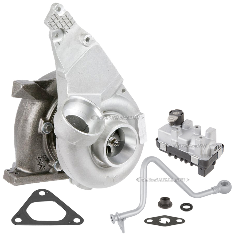 2004 Mercedes Benz Sprinter Van Turbocharger and Installation Accessory Kit