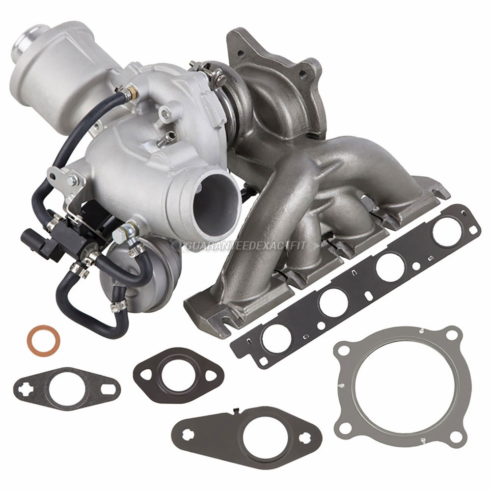 New Turbo Kit With Turbocharger Gaskets For Audi A4 2.0T