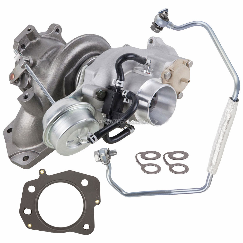 Turbo Kit With Turbocharger Gaskets & Oil Line For Buick