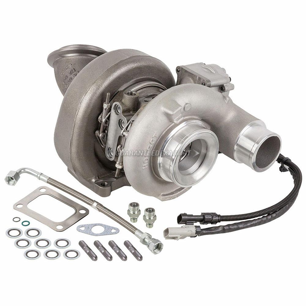 Dodge Ram Trucks Turbocharger and Installation Accessory Kit
