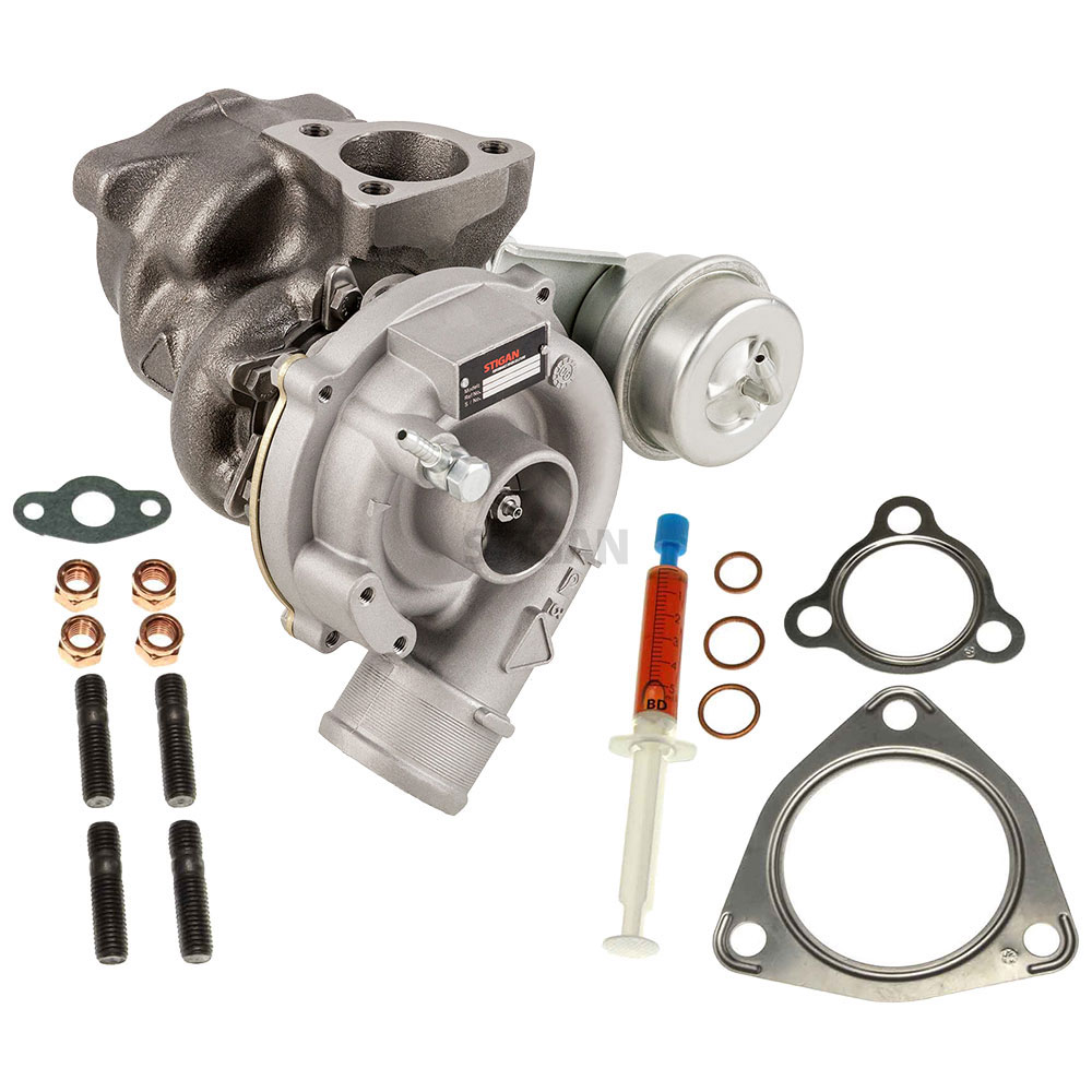 Audi A4 Turbocharger and Installation Accessory Kit