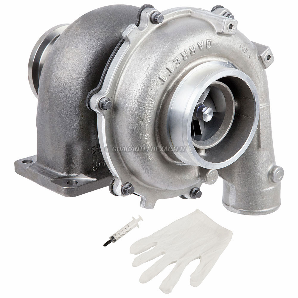 Navistar DT 466P Engine Turbocharger and Installation Accessory Kit