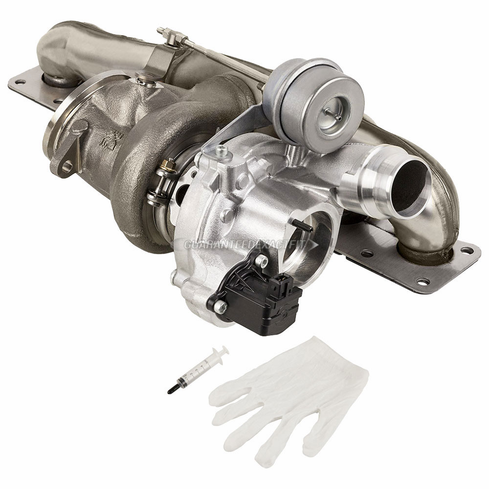 BMW ActiveHybrid 5 Turbocharger and Installation Accessory Kit