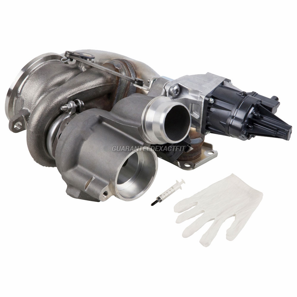 2014 BMW 328i GT xDrive Turbocharger and Installation Accessory Kit
