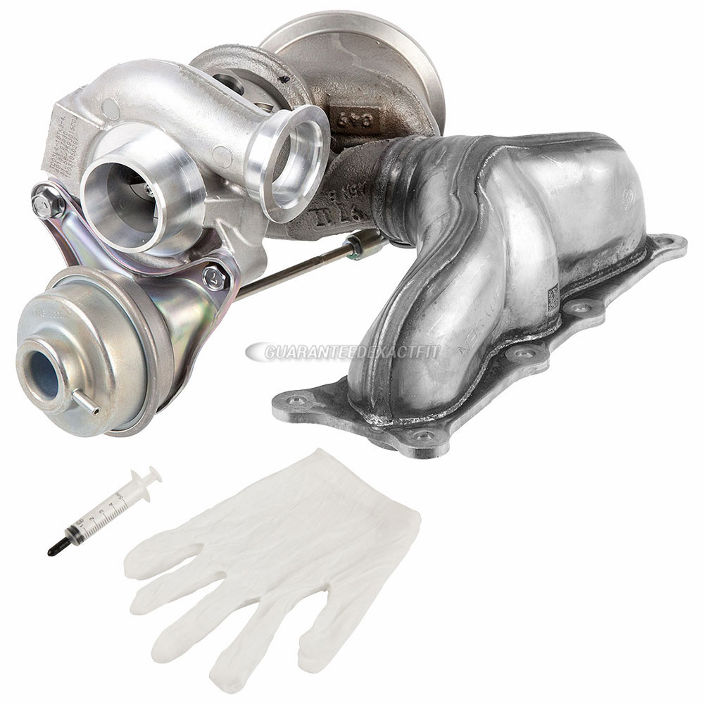 BMW 135i Turbocharger and Installation Accessory Kit