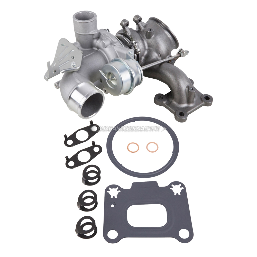 BuyAutoParts 40-82717IK Turbocharger and Installation Accessory Kit
