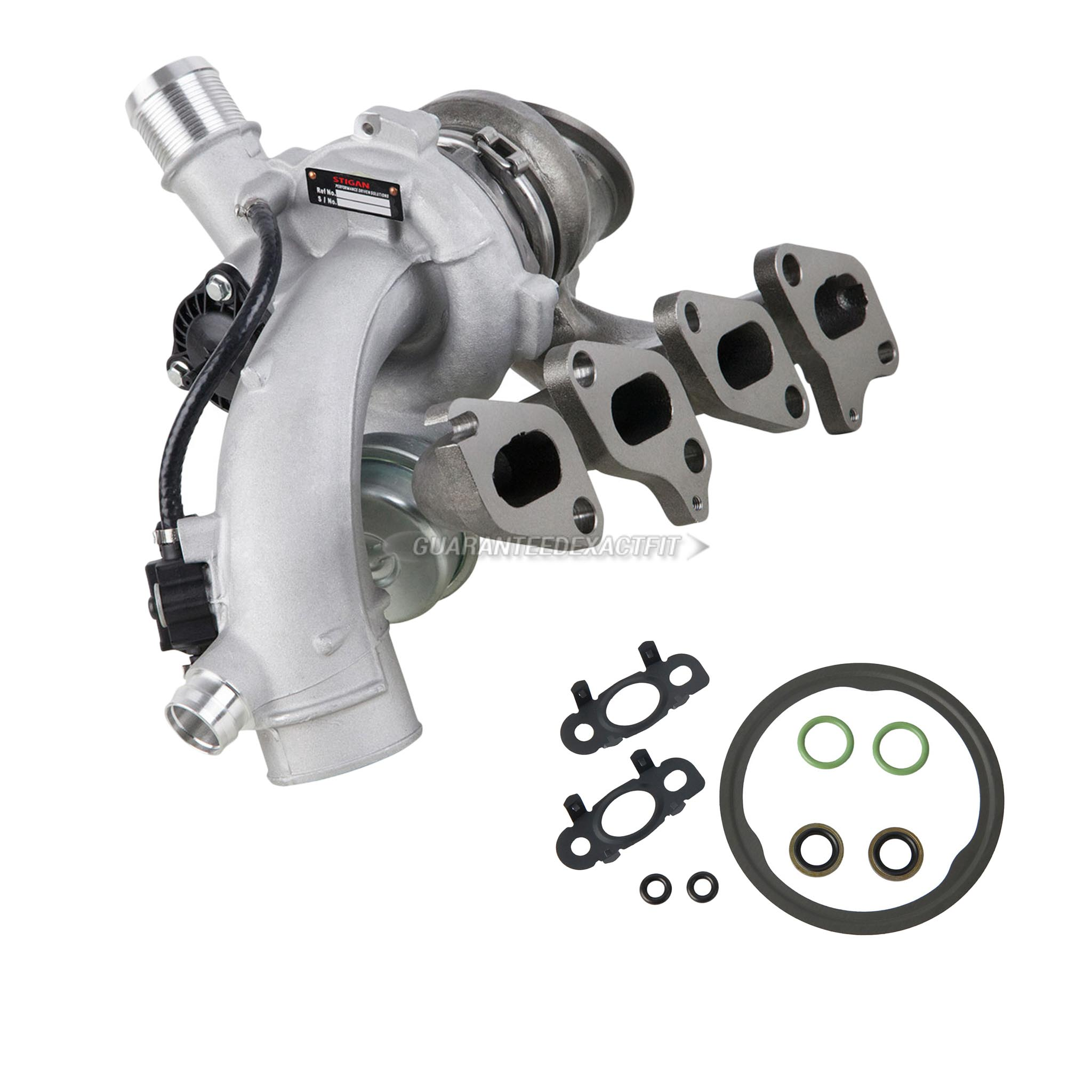 BuyAutoParts 40-82774M12 Turbocharger and Installation Accessory Kit