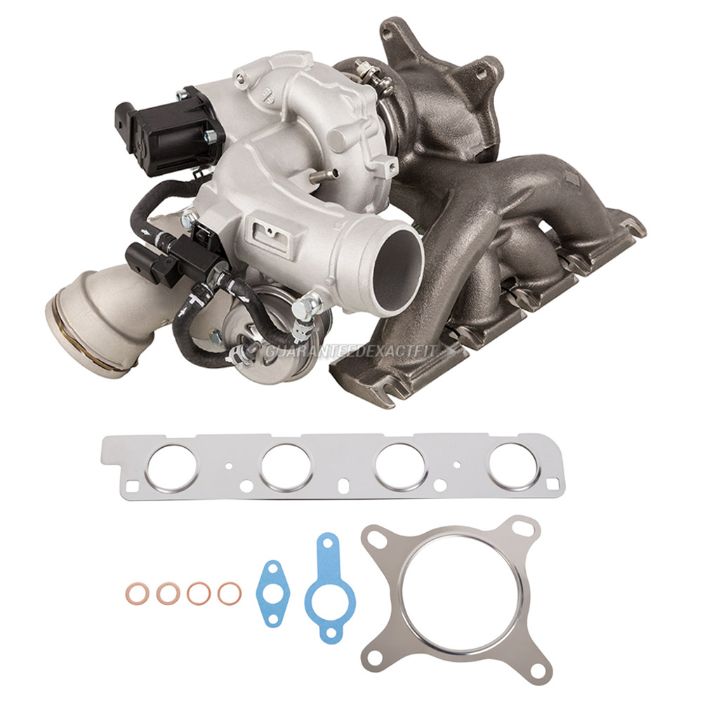 Audi q3 turbocharger and installation accessory kit