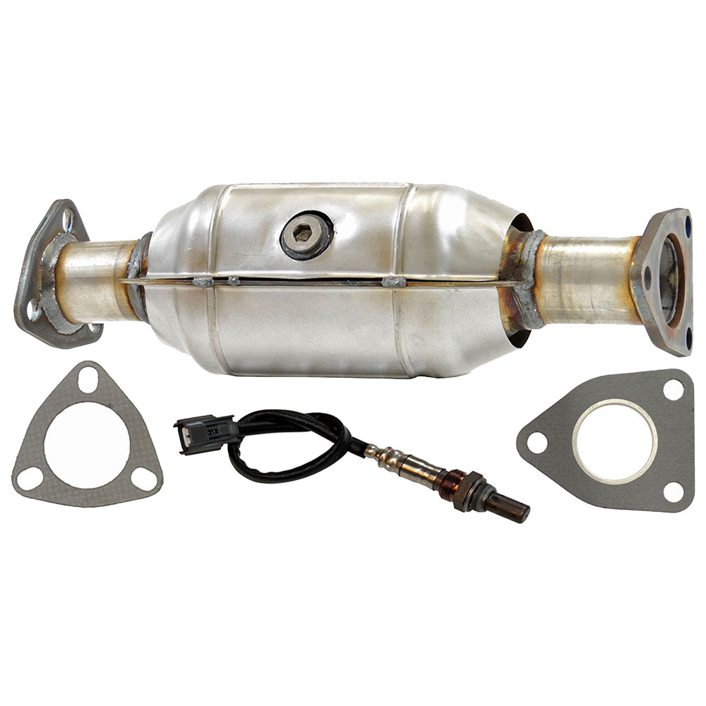 Catalytic Converter CARB Approved and o2 Sensor