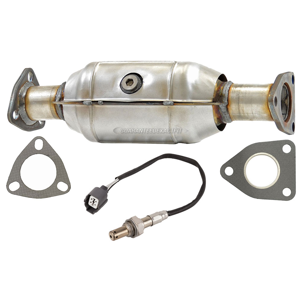 O2 Sensor In Catalytic Converter: 2001 Honda Accord Catalytic Converter CARB Approved And O2