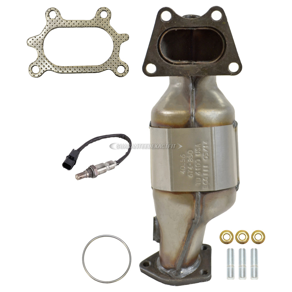 Catalytic Converter EPA Approved And O Sensors For Acura MDX - 2007 acura mdx catalytic converter