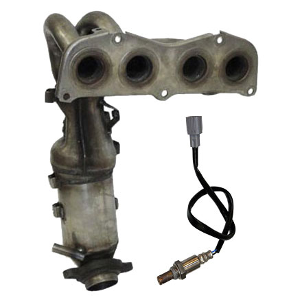 Pontiac Vibe Catalytic Converter EPA Approved and o2 Sensor