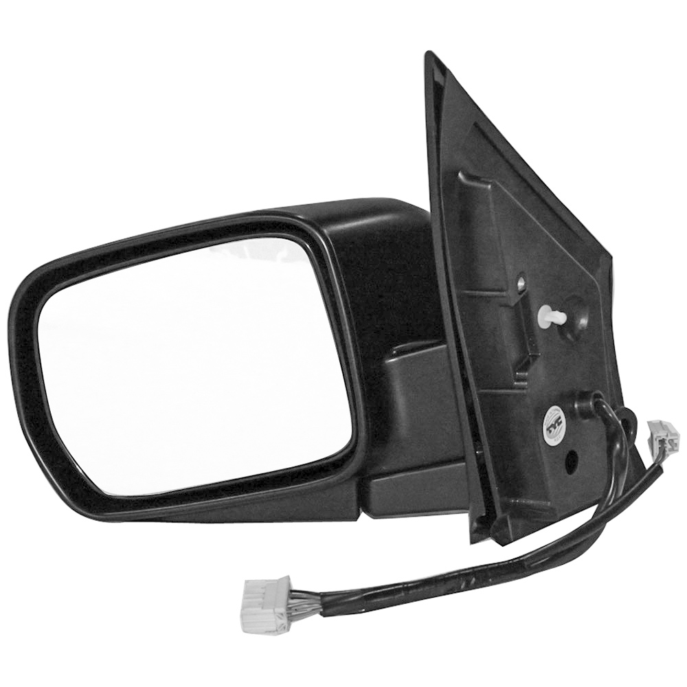 BuyAutoParts 14-11497MJ Side View Mirror