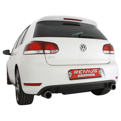 Volkswagen Golf Performance Tail Pipe