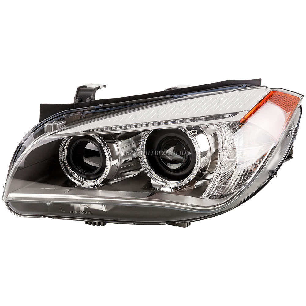 Valeo Headlight Assemblies For BMW X1 2013 2015 OEM REF63117290271