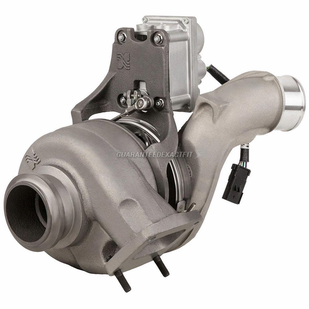 2006 International All Models Turbocharger Navistar Dt466 Engine