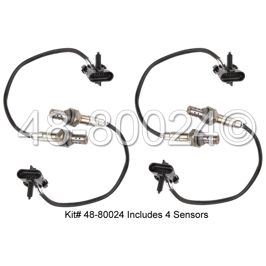 isuzu trooper o2 sensor location
