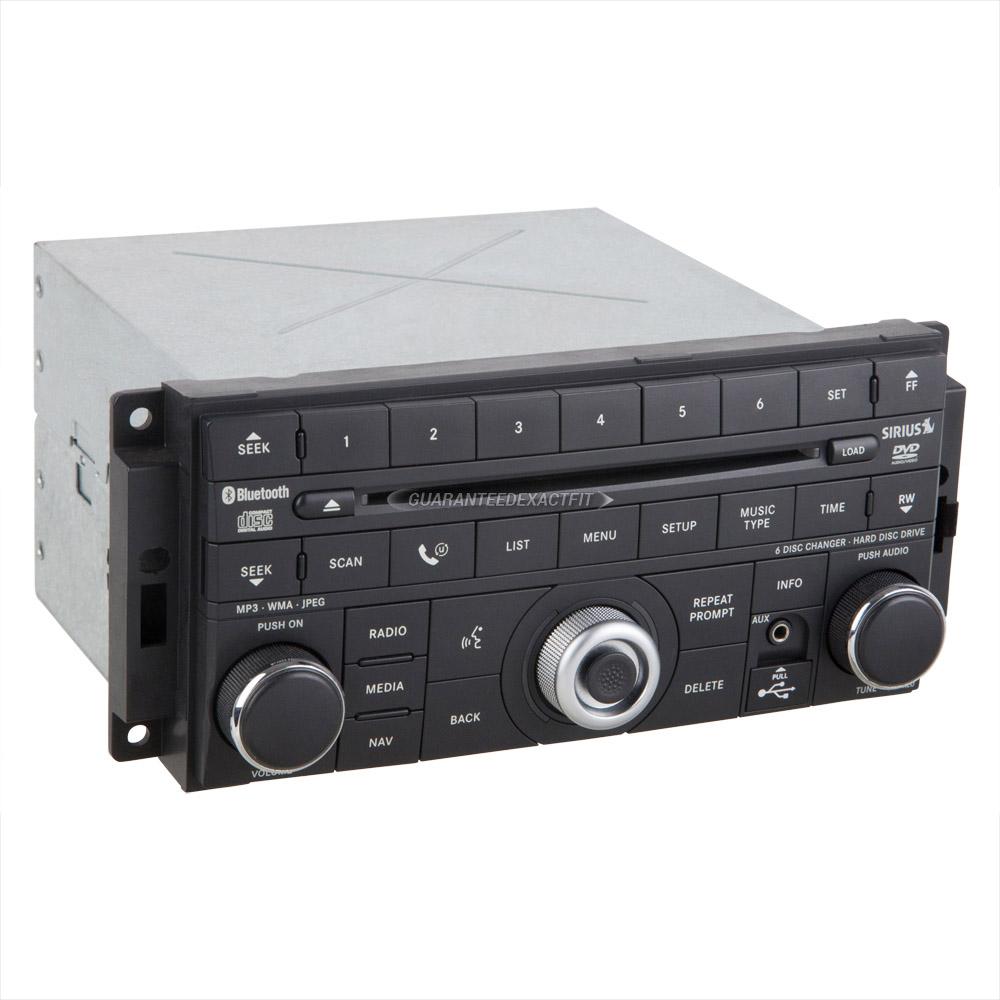 2009 dodge journey radio or cd player am fm dvd bluetooth. Black Bedroom Furniture Sets. Home Design Ideas
