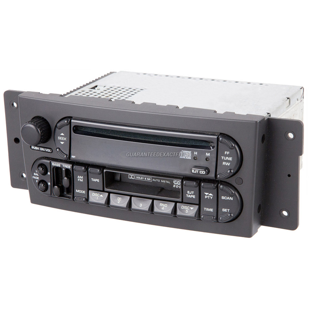 Chrysler Pacifica Radio or CD Player
