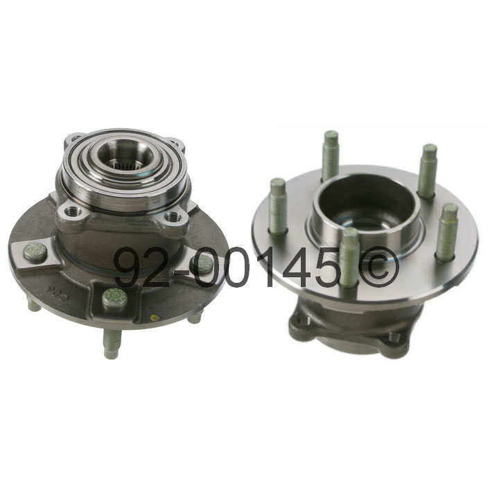 Saturn Vue Wheel Hub Assembly