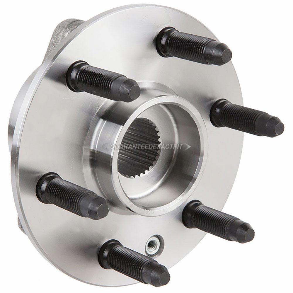 2011 Cadillac SRX Wheel Hub Assembly Rear Hub