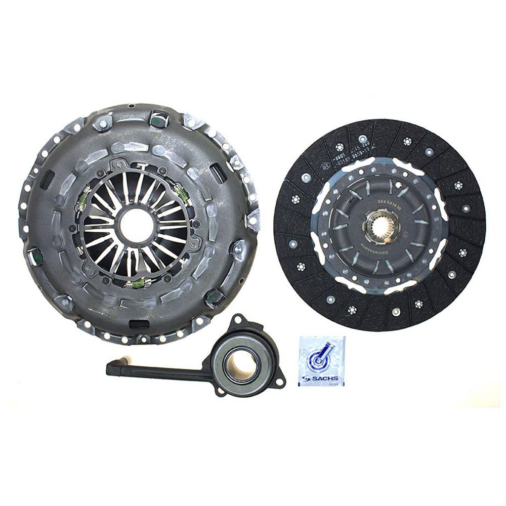 2008 Volkswagen Touareg 2 Transmission: 2008 Volkswagen Jetta Clutch Kit 2.0L Engine With BPY
