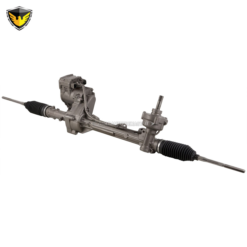 2012 Ford Explorer Rack And Pinion W O Automated Parking