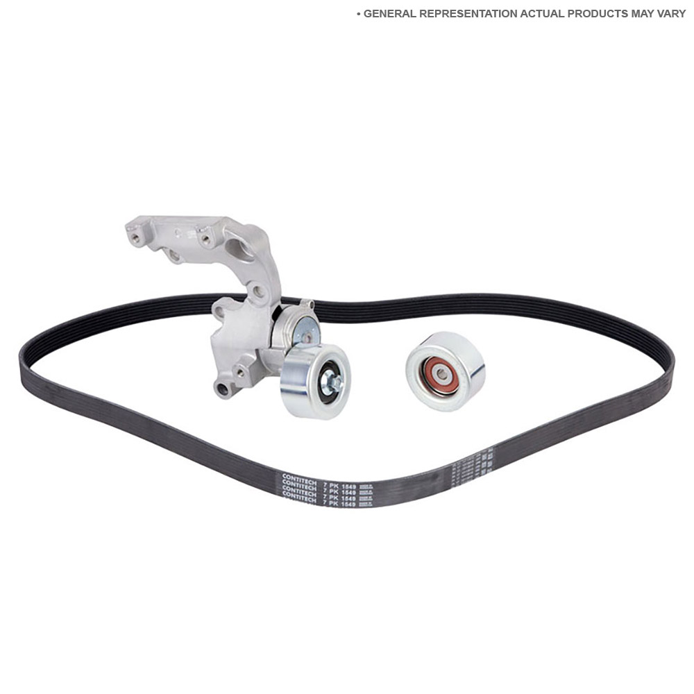 2001 Mercedes Benz C240 Serpentine Belt and Tensioner Kit