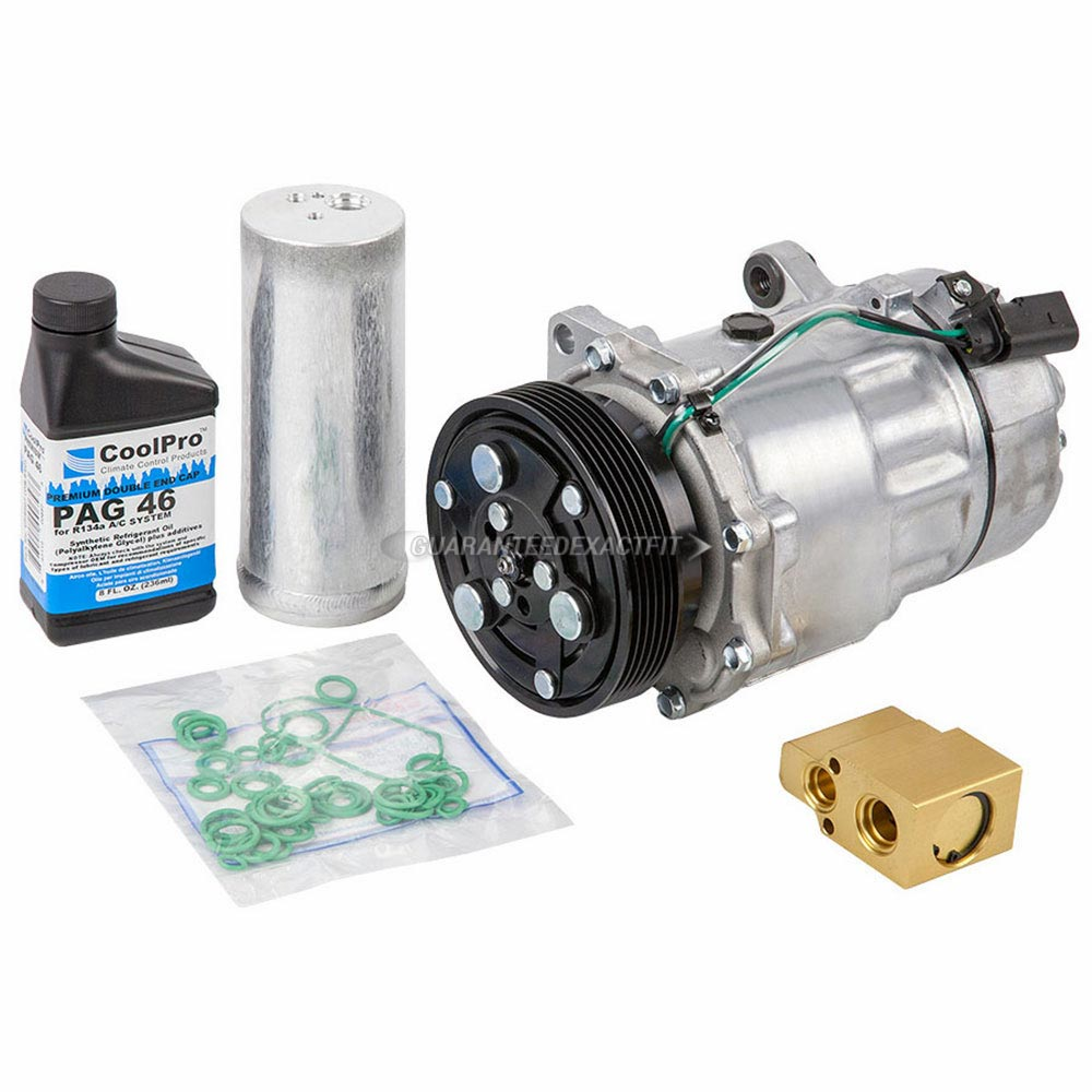 Volkswagen Repairs: New AC Compressor & Clutch With Complete A/C Repair Kit