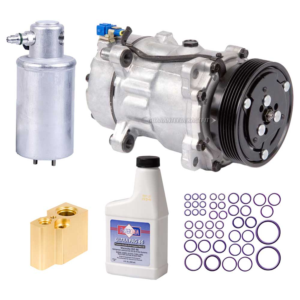 Volkswagen Cabriolet A/C Compressor and Components Kit