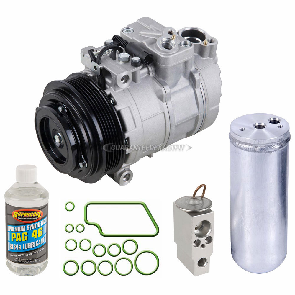 Mercedes Benz ML320 A/C Compressor and Components Kit