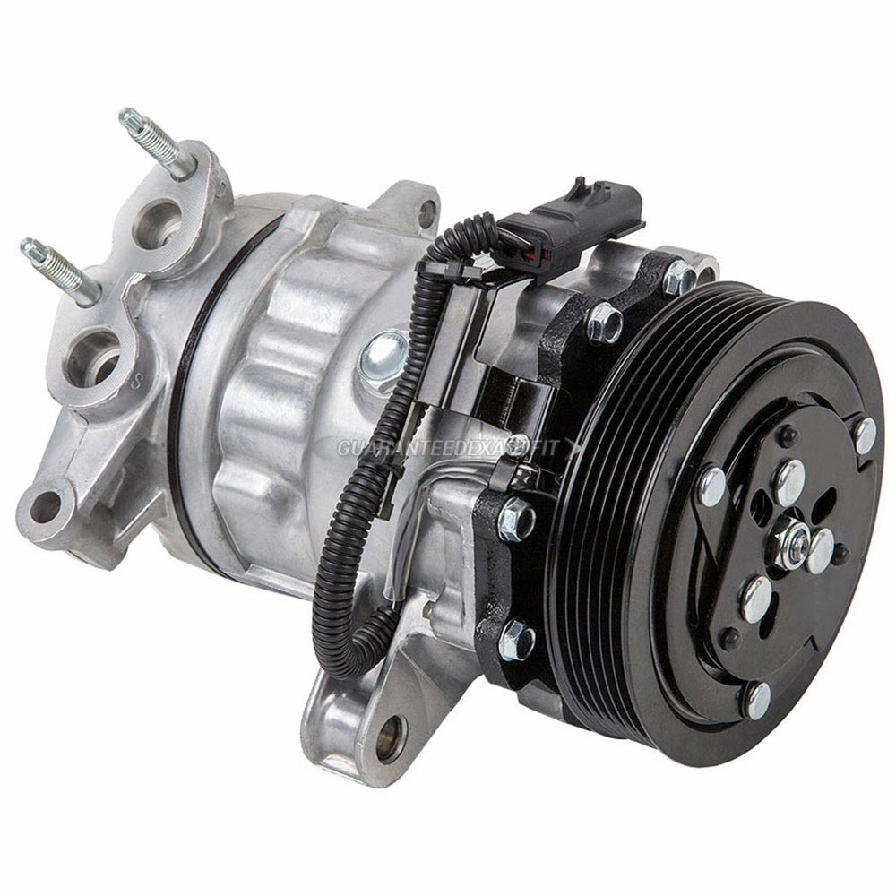2004 Jeep Liberty A/C Compressor And Components Kit 3.7L