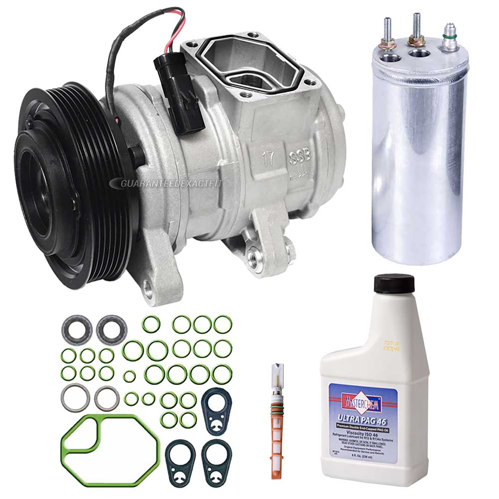 Jeep Wrangler A/C Compressor and Components Kit