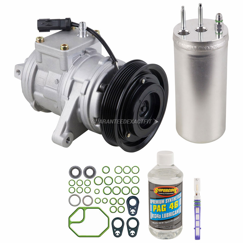 Ac Compressor And Components Kits For Jeep Wrangler 2000 2006 40l Wiring Harness Gallery Of Cars Accessories A C Kit