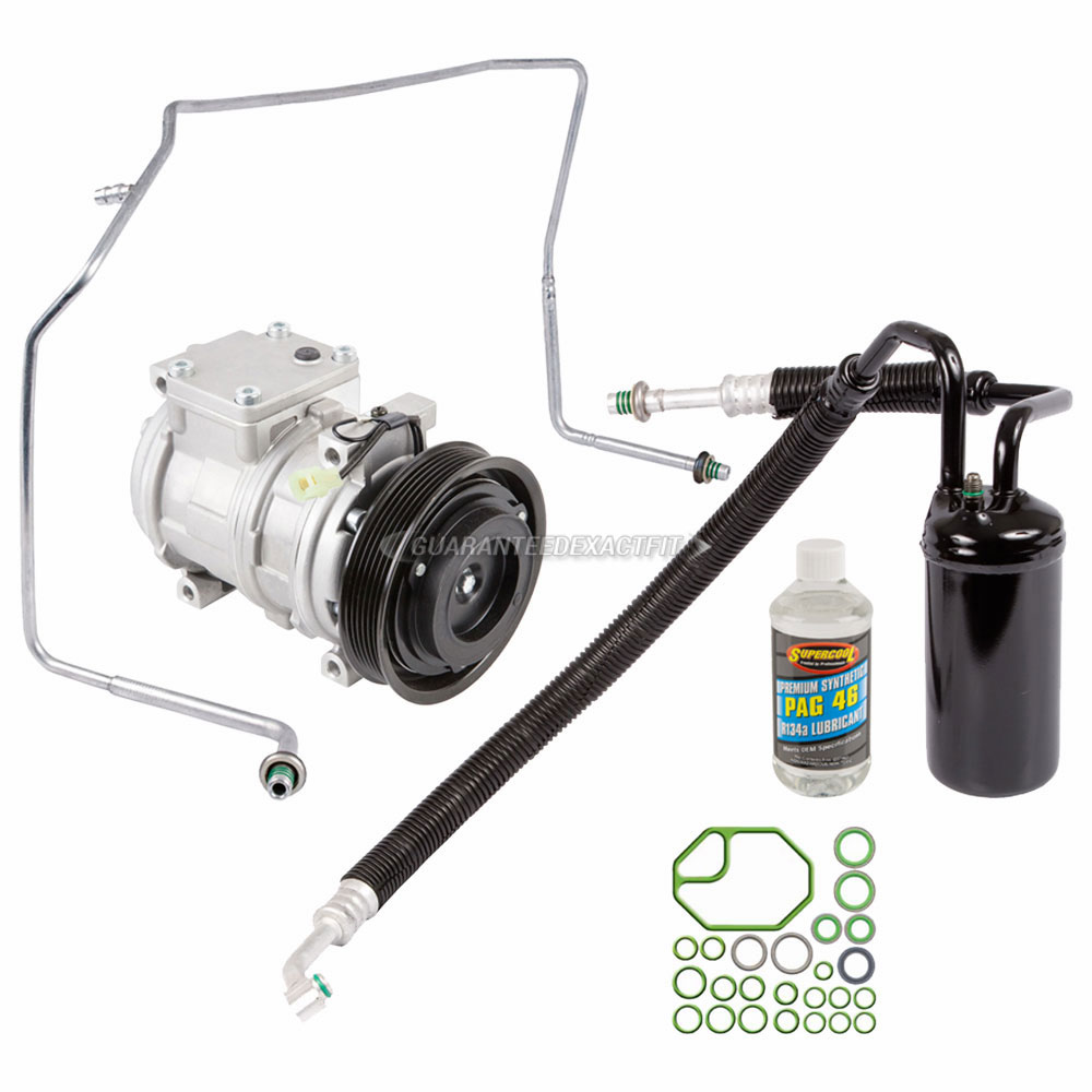 Jeep Grand Cherokee A/C Compressor and Components Kit