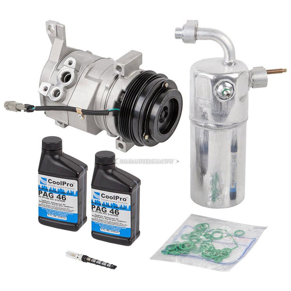 Chevrolet Suburban A/C Compressor and Components Kit