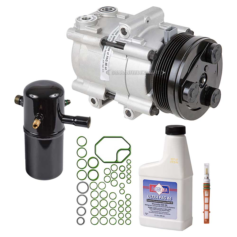 1998 Mercury Grand Marquis A/C Compressor and Components Kit