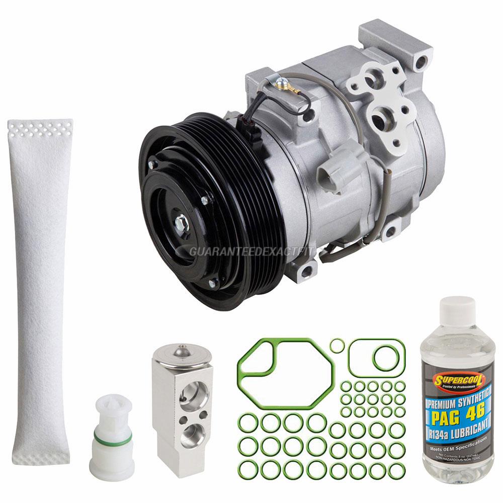 For Toyota Camry Highlander Solara 4cyl 2.4L Denso OEM AC A//C Compressor NEW
