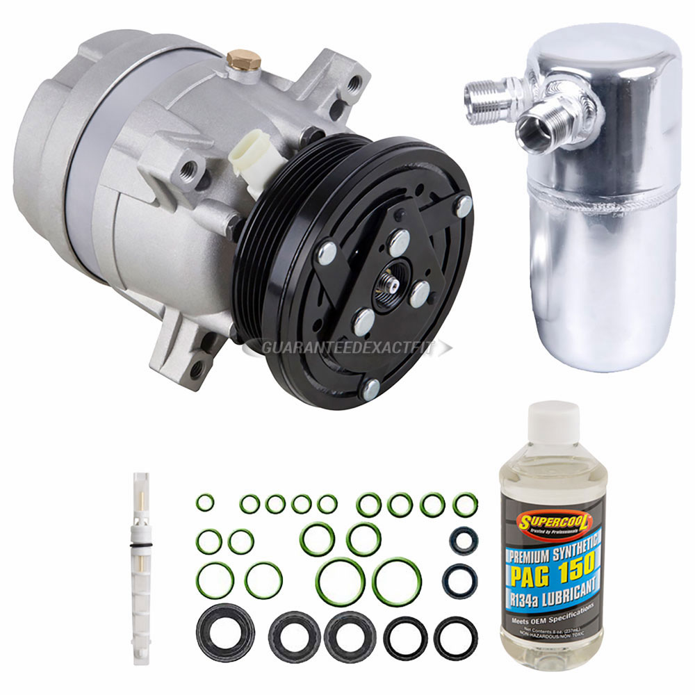 A//C Compressor w//Clutch for Chevrolet S-10 GMC Sonoma Isuzu Hombre w//2.2L Engine