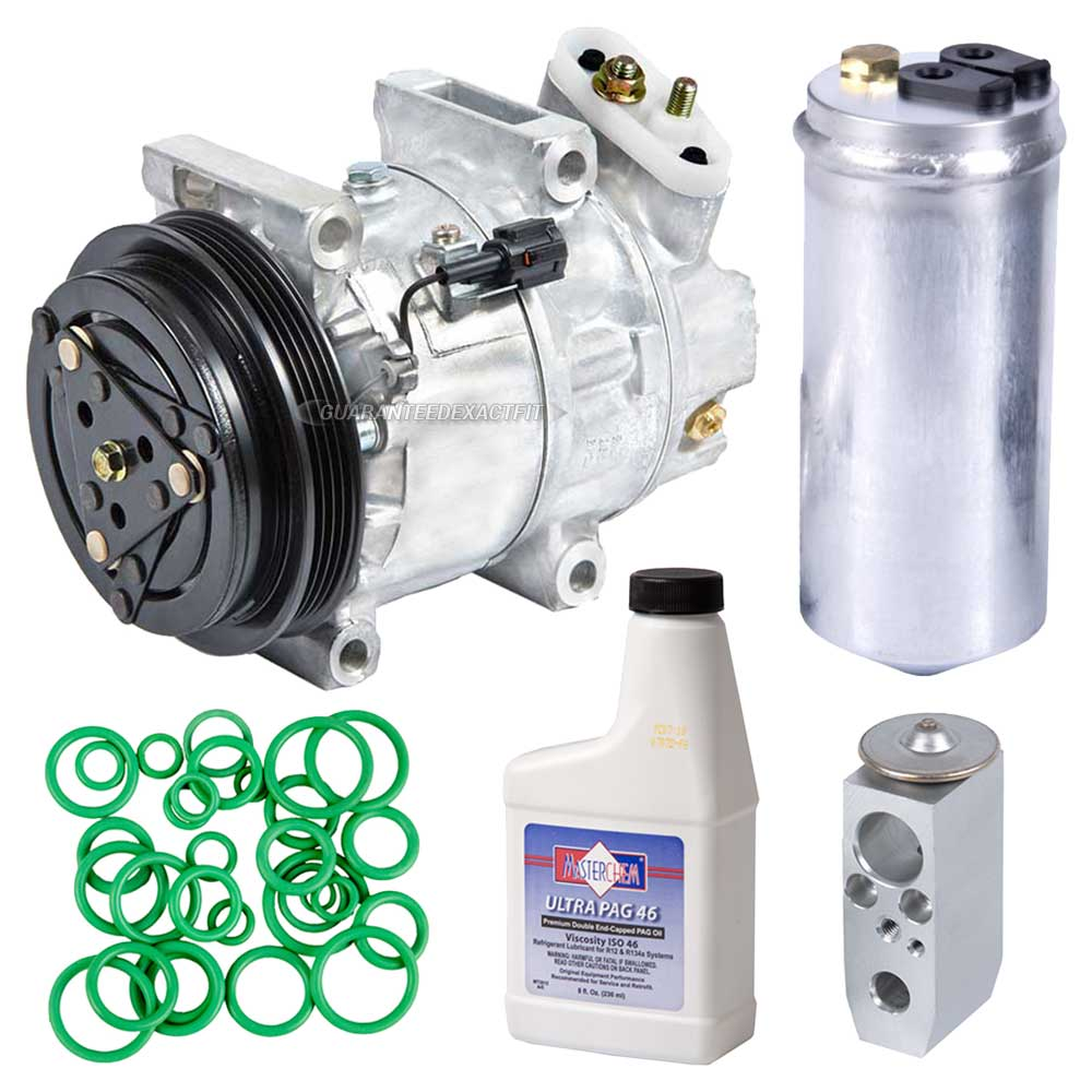 Nissan Pathfinder A/C Compressor and Components Kit