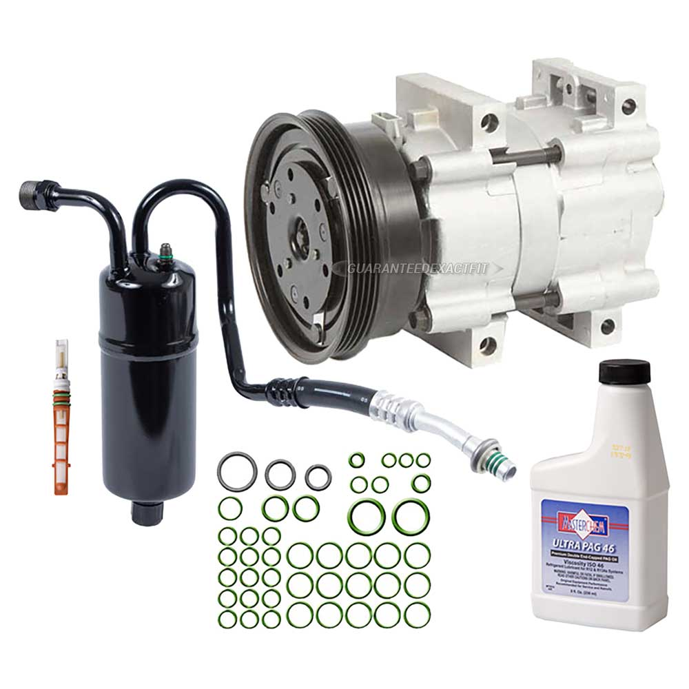 2002 Mercury Villager A/C Compressor and Components Kit