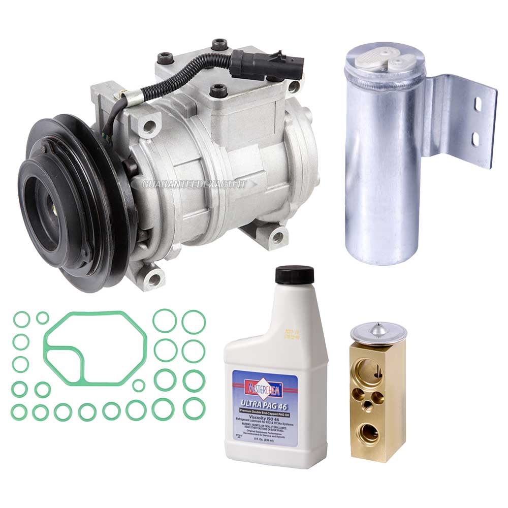2000 Chrysler Grand Voyager A/C Compressor and Components Kit