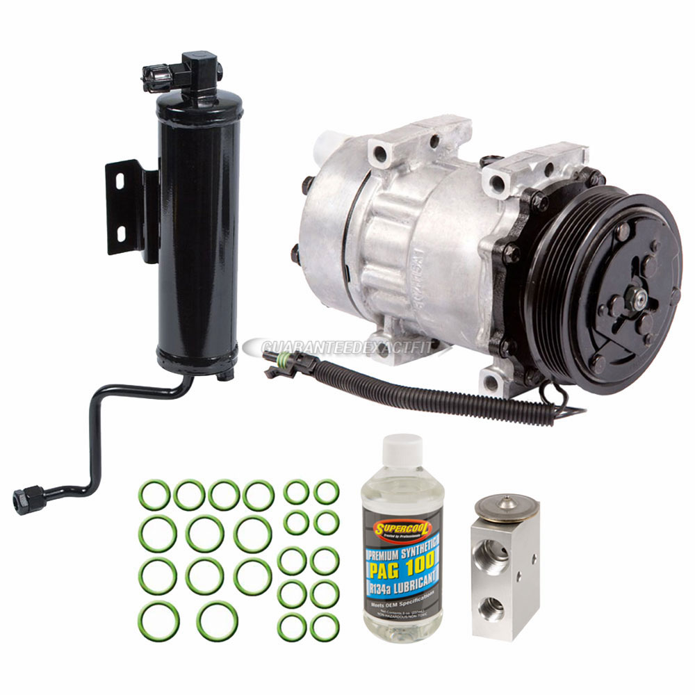 Ac Compressor And Components Kits For Jeep Cherokee 1994 1996 25l Grand Alternator Wiring Harness A C Kit