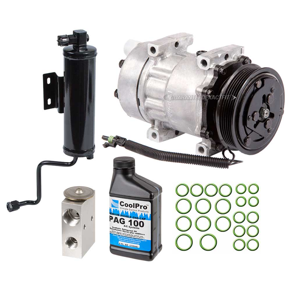 1994 Jeep Cherokee A/C Compressor and Components Kit