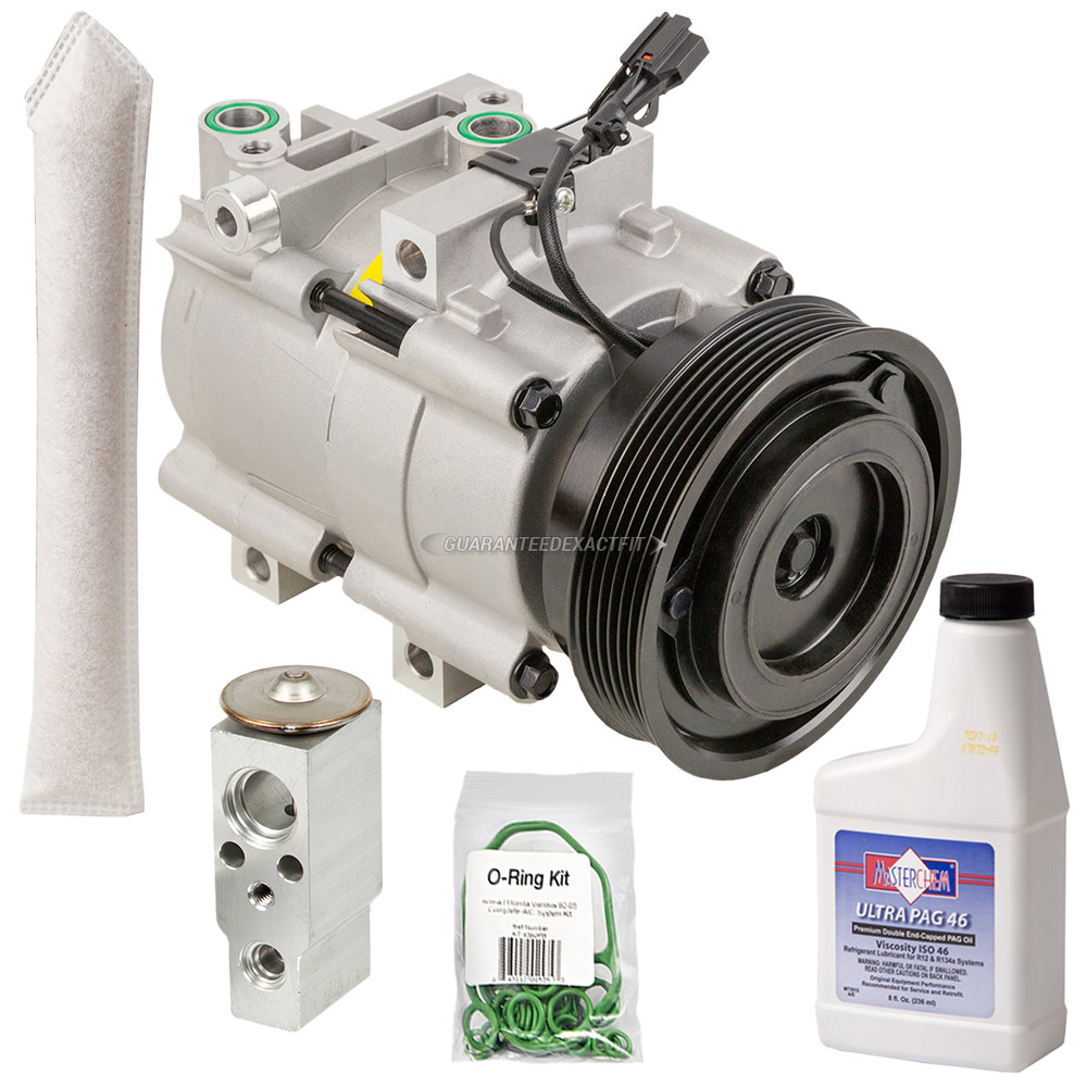 Ac Compressor And Components Kits For Hyundai Santa Fe 2001 2006 27 2004 Fuel Pump Replacement A C Kit