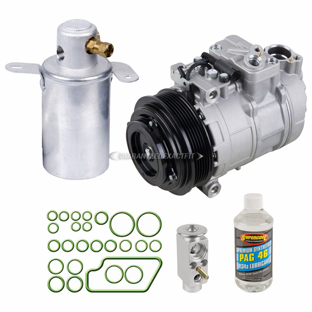 Mercedes Benz CLK320 A/C Compressor and Components Kit